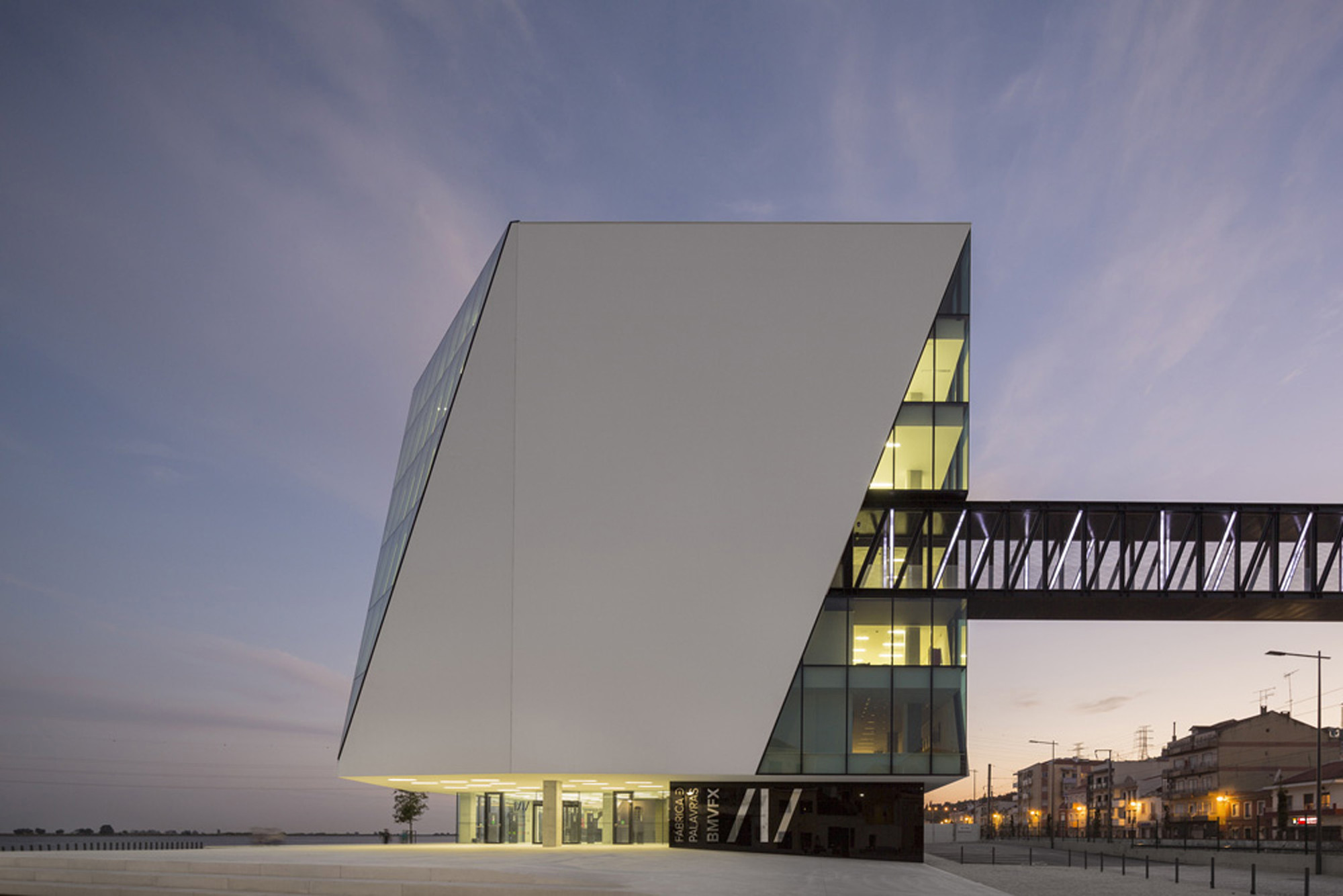 Vila Franca de Xira Municipal Library / Miguel Arruda Arquitectos Associados