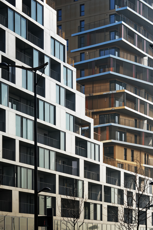 Best Image Housing in Paris / Comte & Vollenweider Architectes + Hamonic + Masson & Associés