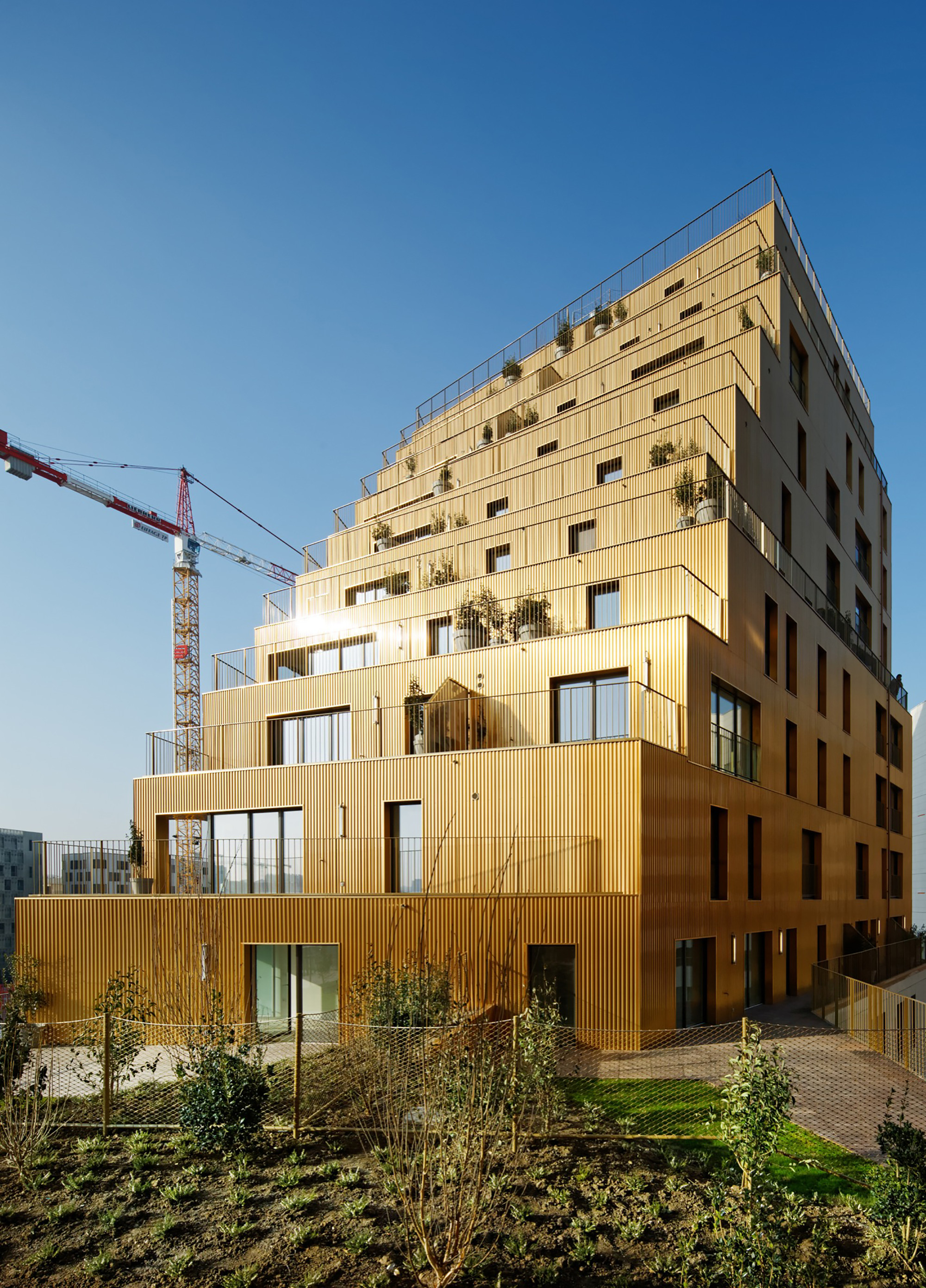 Gallery of housing in paris comte vollenweider for Architecte paris