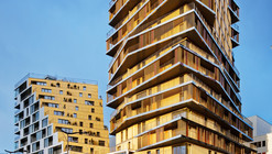 Housing in Paris  / Comte & Vollenweider Architectes + Hamonic + Masson & Associés