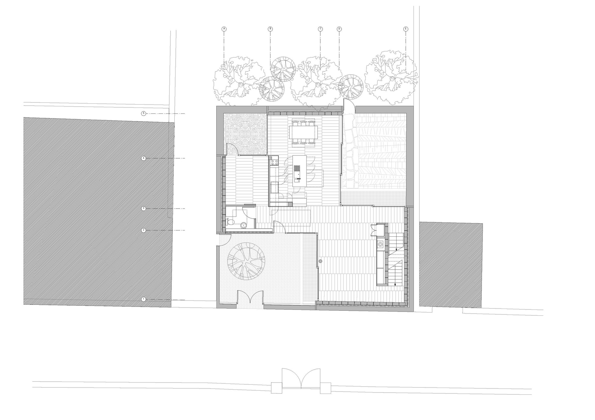 gallery of z square house mccullough mulvin architects 10
