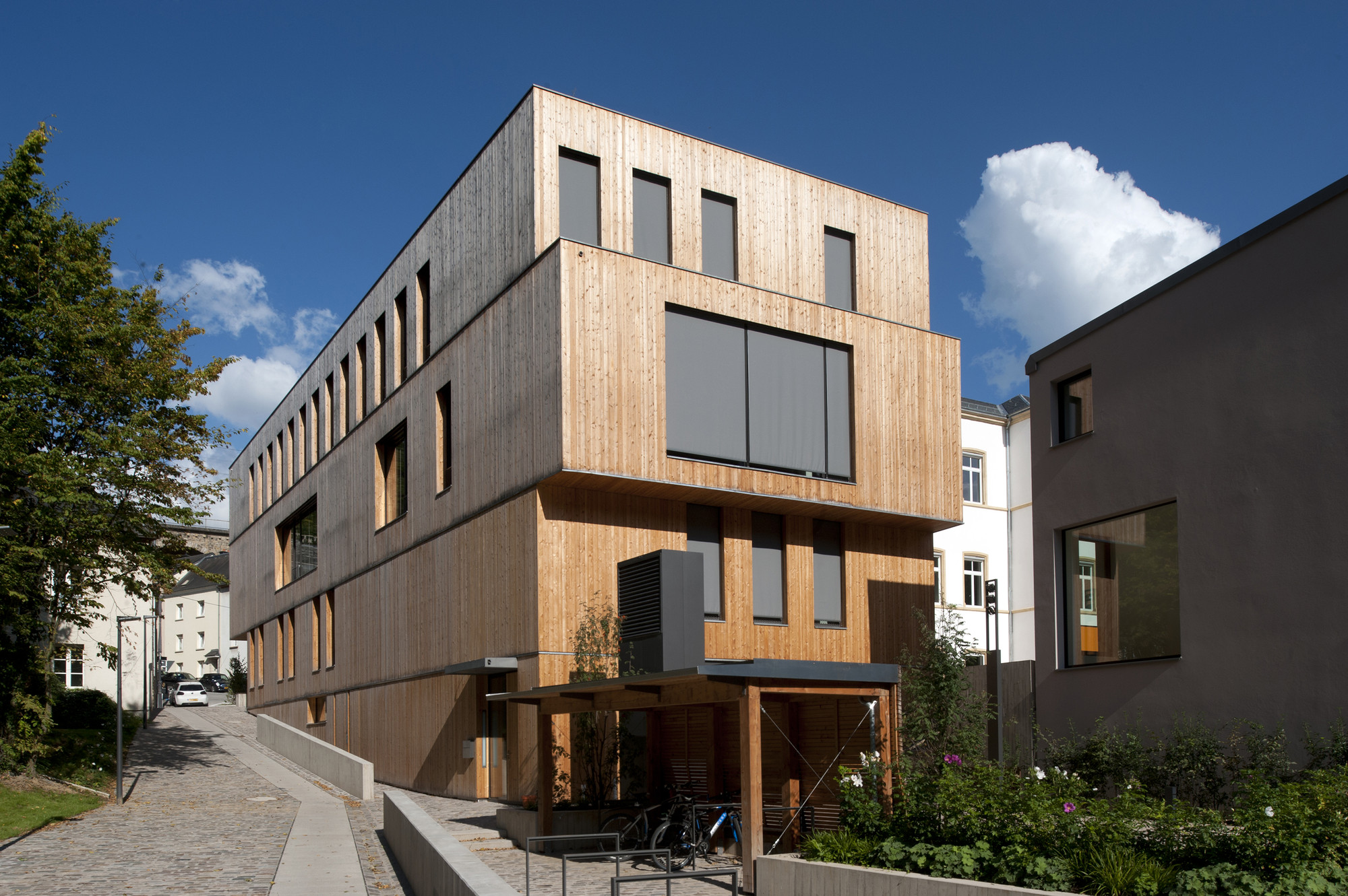 Administrative Building For The Oeko-Center / STEINMETZDEMEYER, © Catherine Thiry