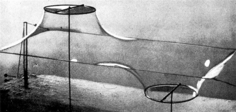 Frei Otto and the Importance of Experimentation in Architecture, via Pinterest / Usuario u2toyou 浅田