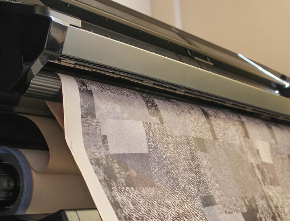 Materiales: Papel Mural para Revestimientos Interiores, Cortesia de Carpenter