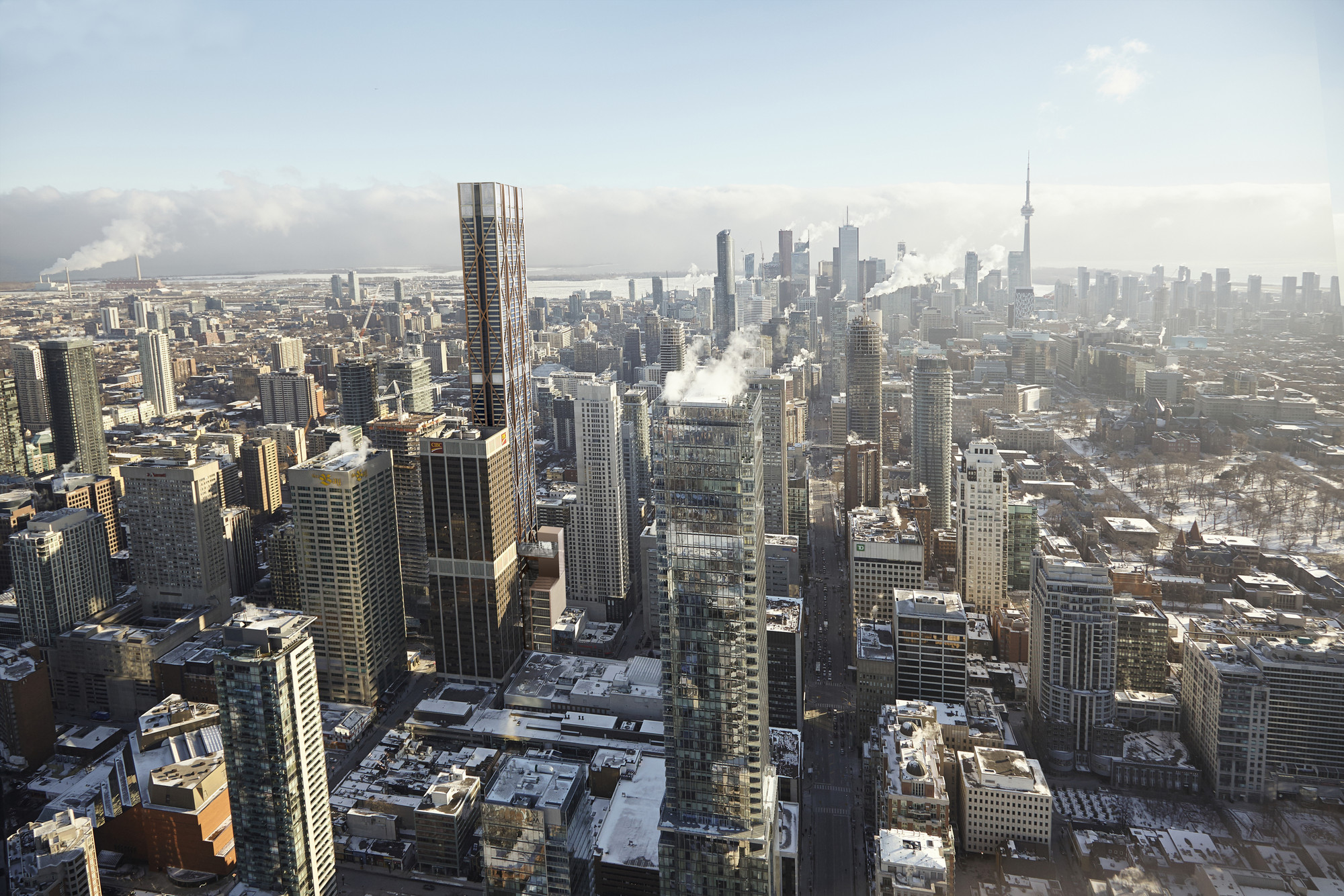 Foster + Partners Reveal Plans for Toronto's Second Tallest Tower, © Foster + Partners