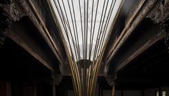 China: dispositivo de bambú permite iluminar el interior de un antiguo edificio vernacular