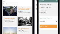 Places Journal Launches New Tool for Sharing Articles about Architecture, Landscape, and Urbanism