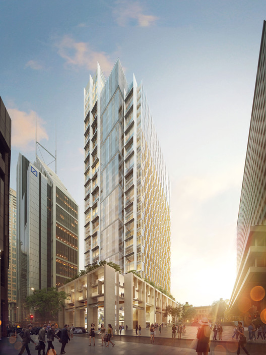 HASSELL Wins Competition to Construct Landmark Tower in Sydney, Courtesy of HASSELL