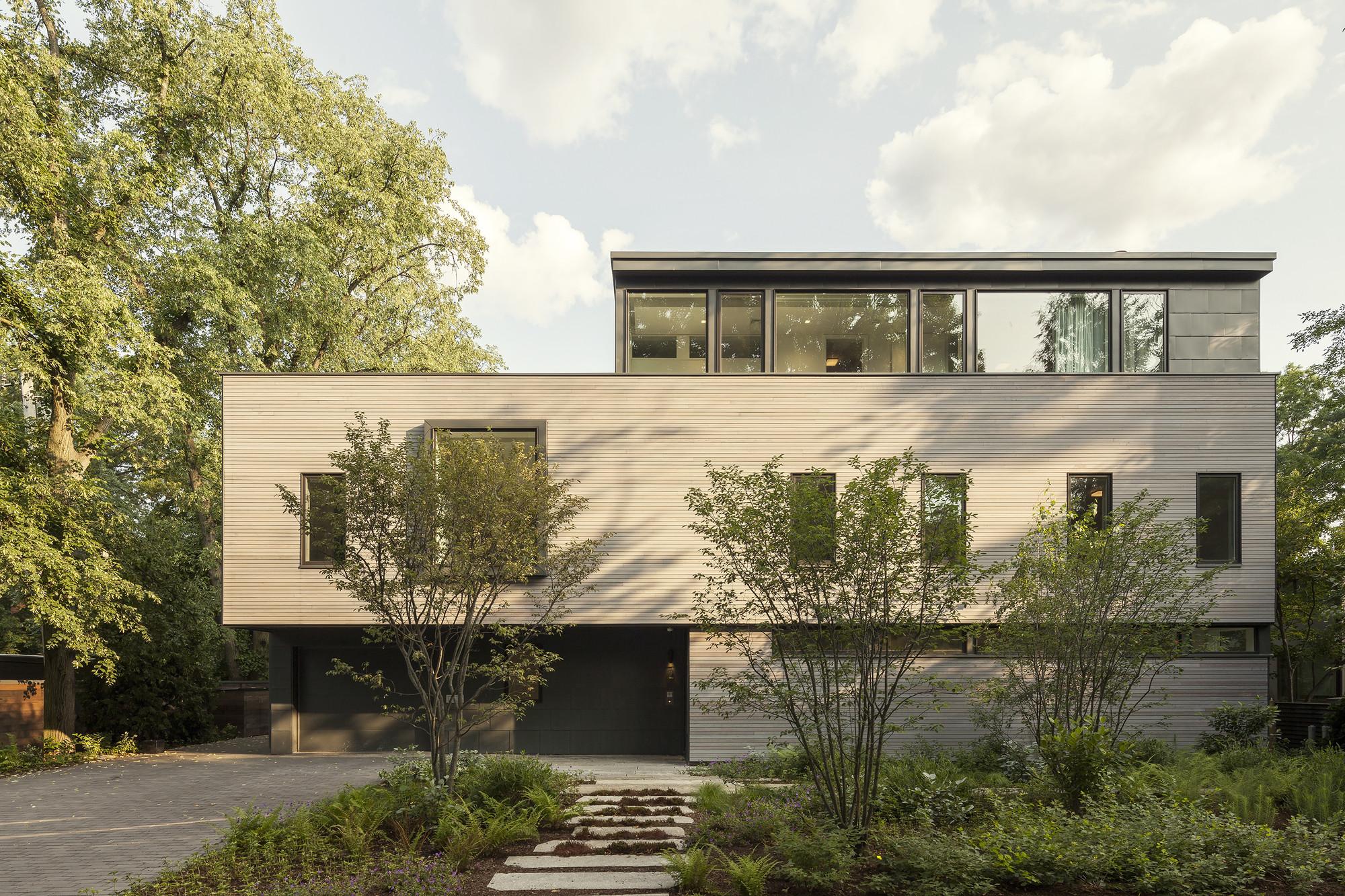 Casa en Cambridge / Anmahian Winton Architects, © Jane Messinger