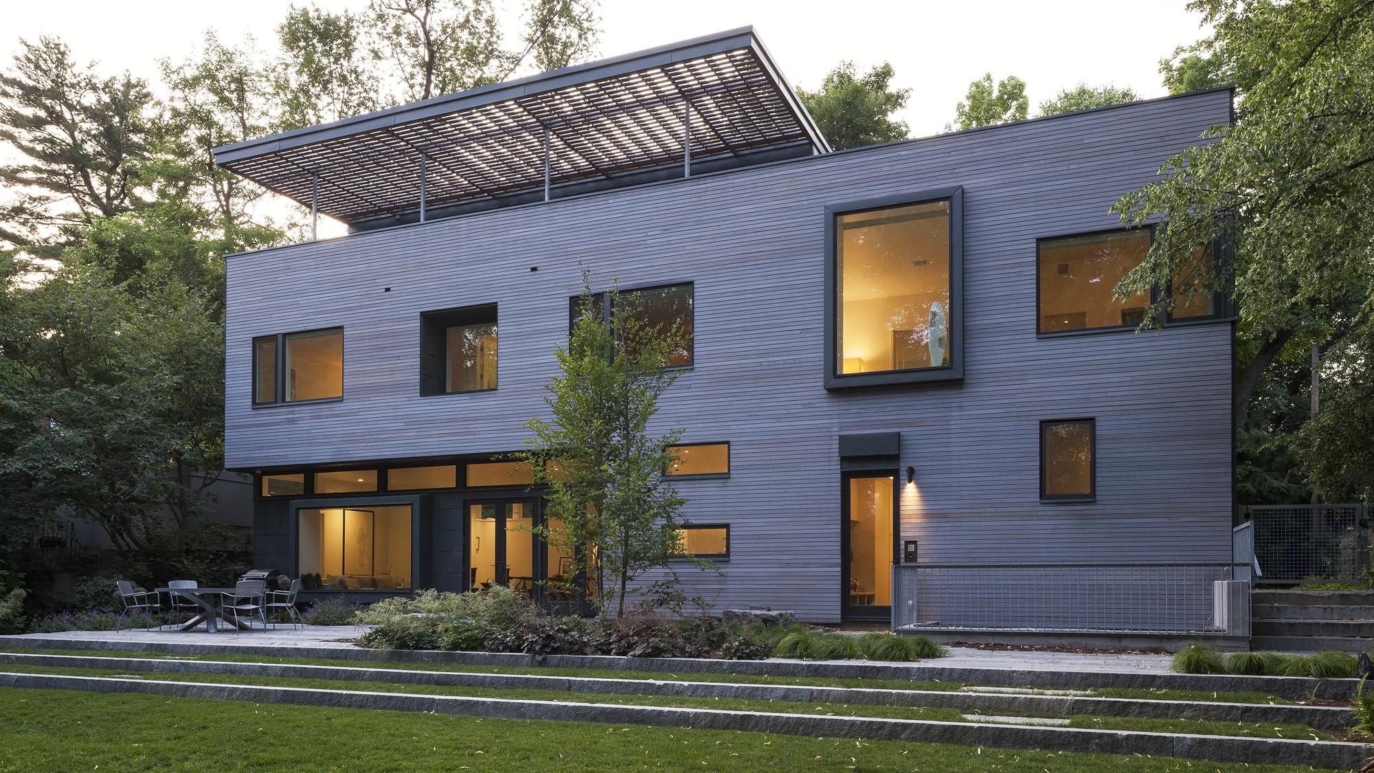 Galeria de casa cambridge anmahian winton architects 2 for Cool house plans com