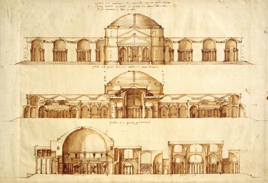 Desenhos de Andrea Palladio