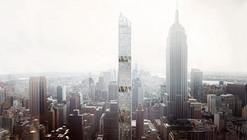 """Perkins+Will's """"Sleek"""" Manhattan Tower to Feature Five Open-Air Gardens"""