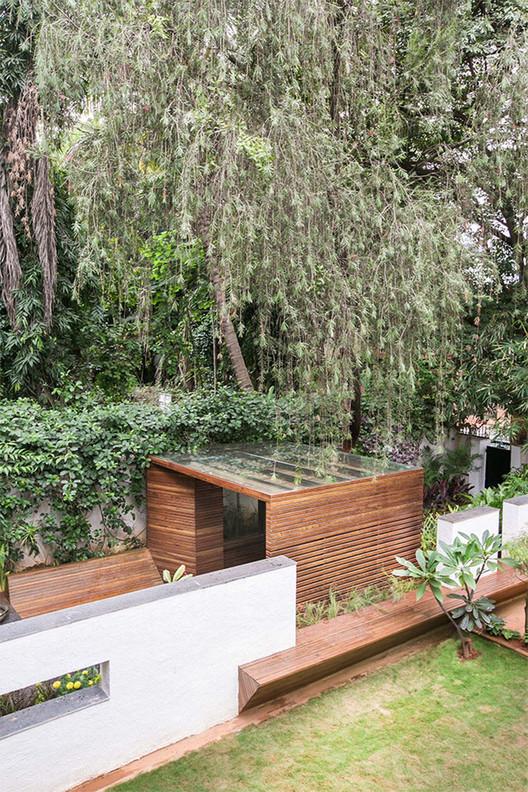 Pabell n en un jard n collectiveproject plataforma for Garden folly designs