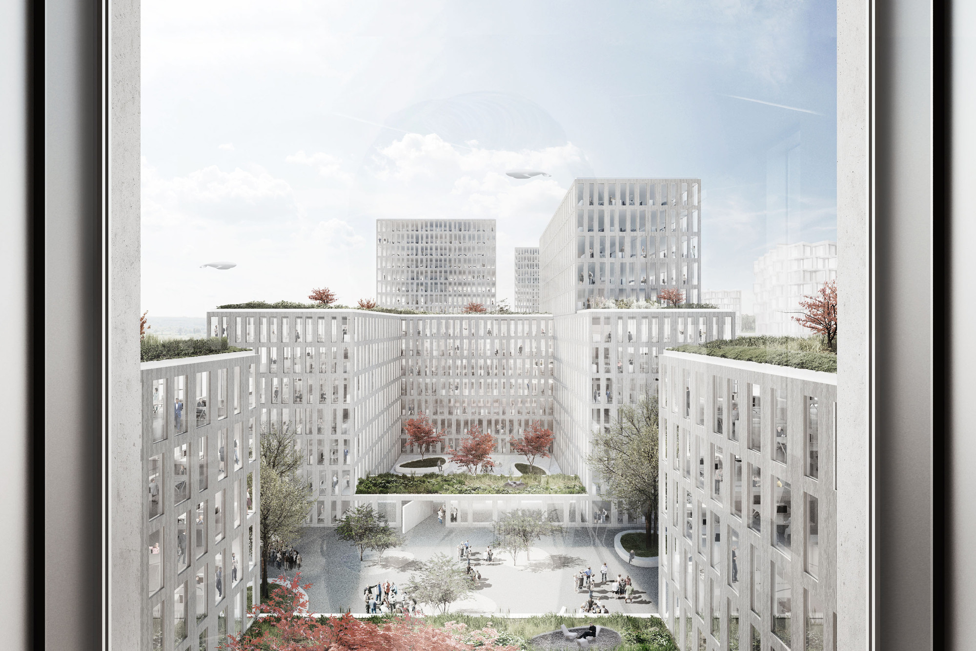 WAA Wins Competition To Design Am Hirschgarten In Munich C