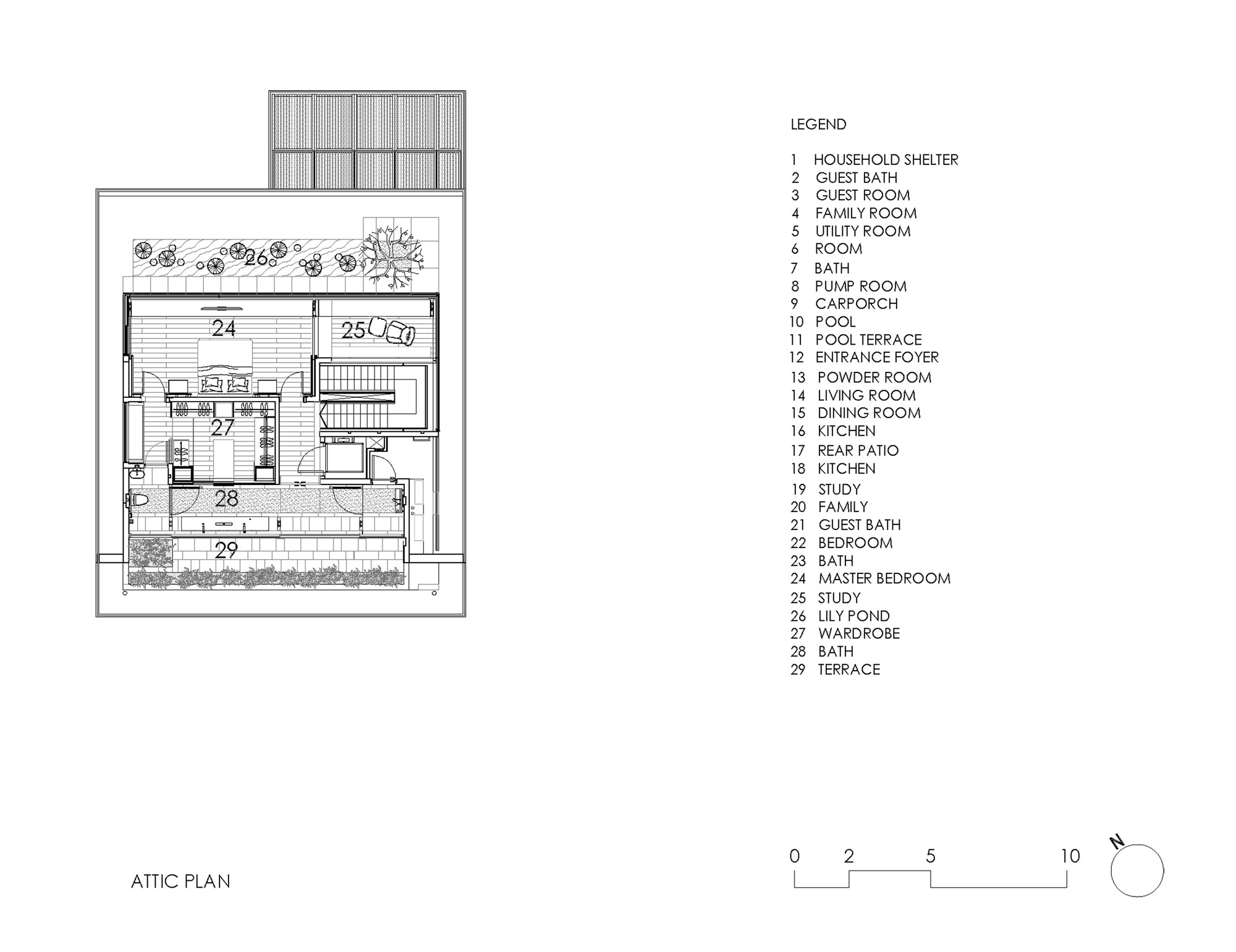 Chiltern HouseAttic Floor Plan  sc 1 st  ArchDaily & Gallery of Chiltern House / WOW Architects | Warner Wong Design - 18