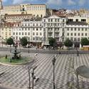 Rossio, em Lisboa. Via Wikipédia