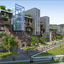 Residential. Image Courtesy of Vincent Callebaut Architecture