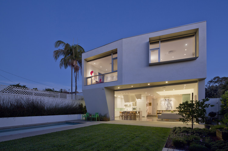 Holleb residence john friedman alice kimm architects - Casas americanas por dentro ...