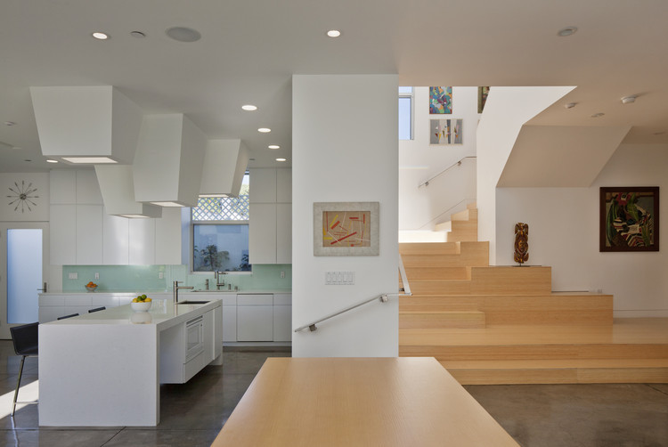 Holleb Residence / John Friedman Alice Kimm Architects, © Benny Chan / Fotoworks