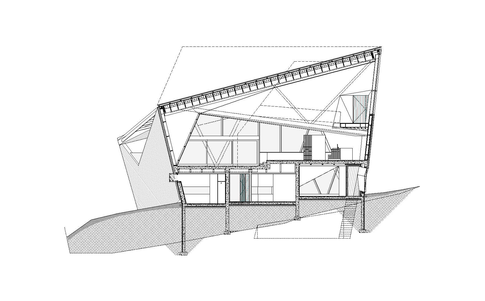 Hadaway House Patkau Architects Archdaily