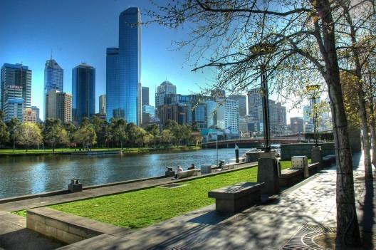 © Melbourne, Austrália. © alandot, via Flickr.