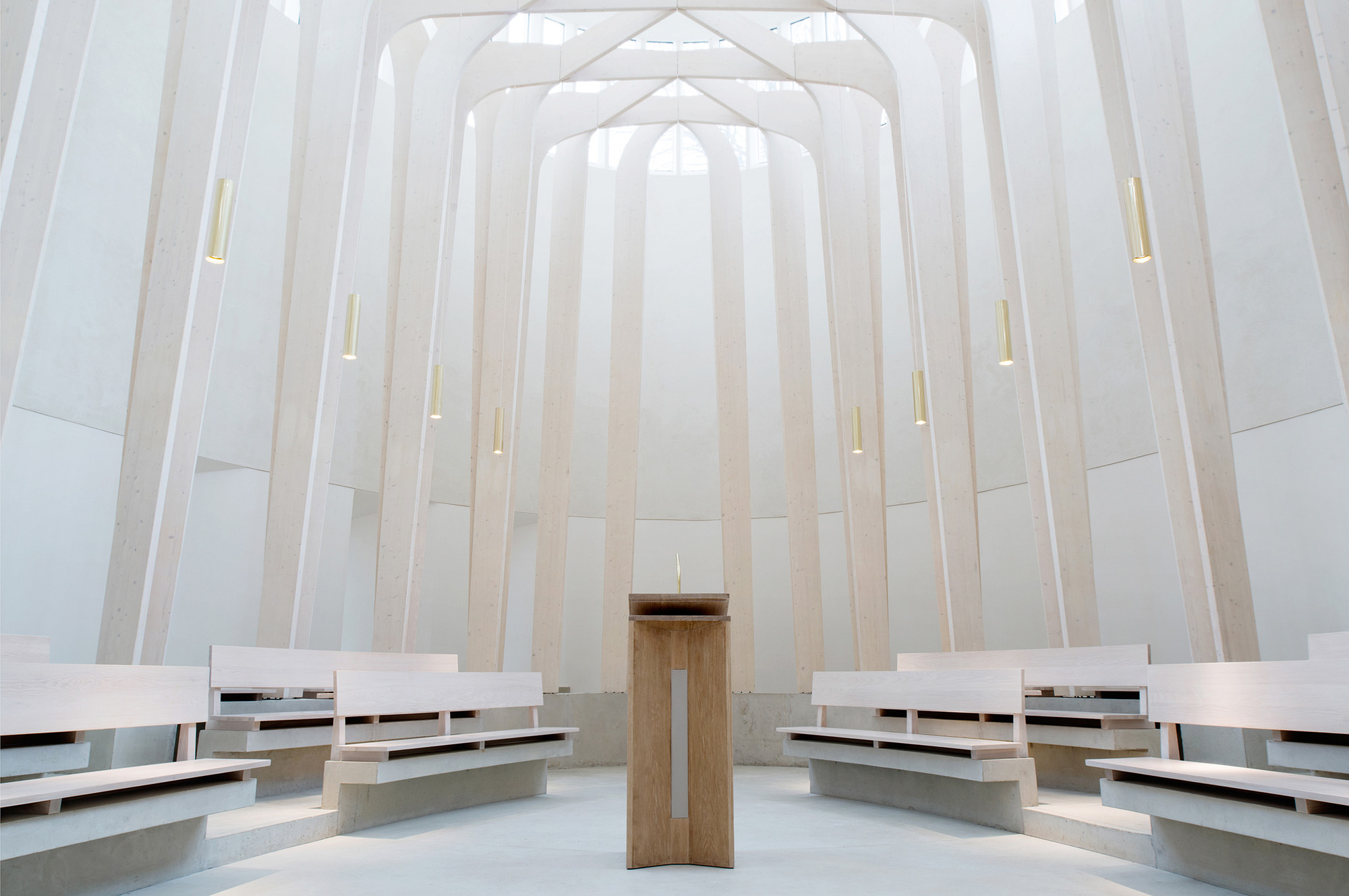 Gallery of Bishop Edward King Chapel Niall McLaughlin Architects 6
