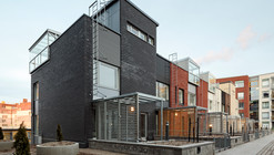 Kalasataman Huvilat Townhouses / PORTAALI architects Ltd + ArkOpen Ltd