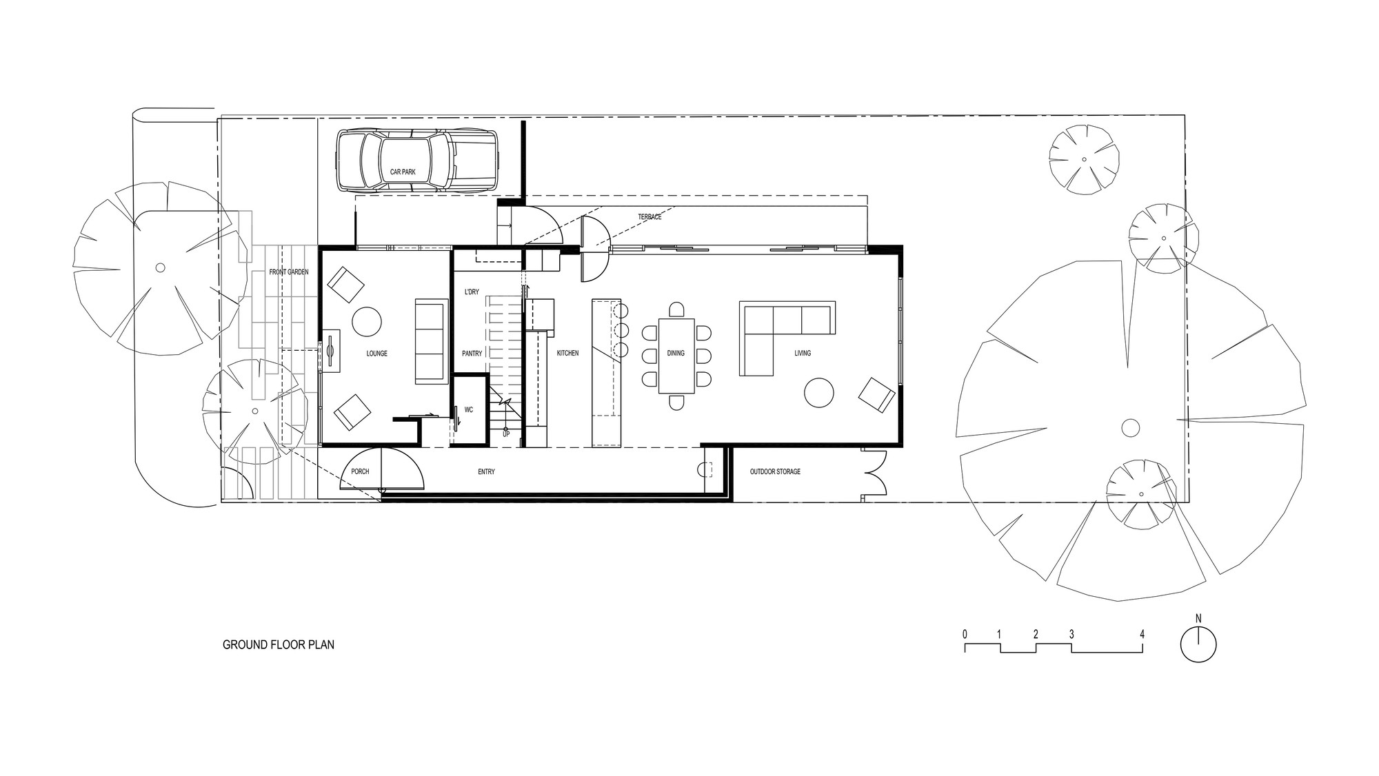 Gallery of bike house fmd architects 15 for Floor plan holder