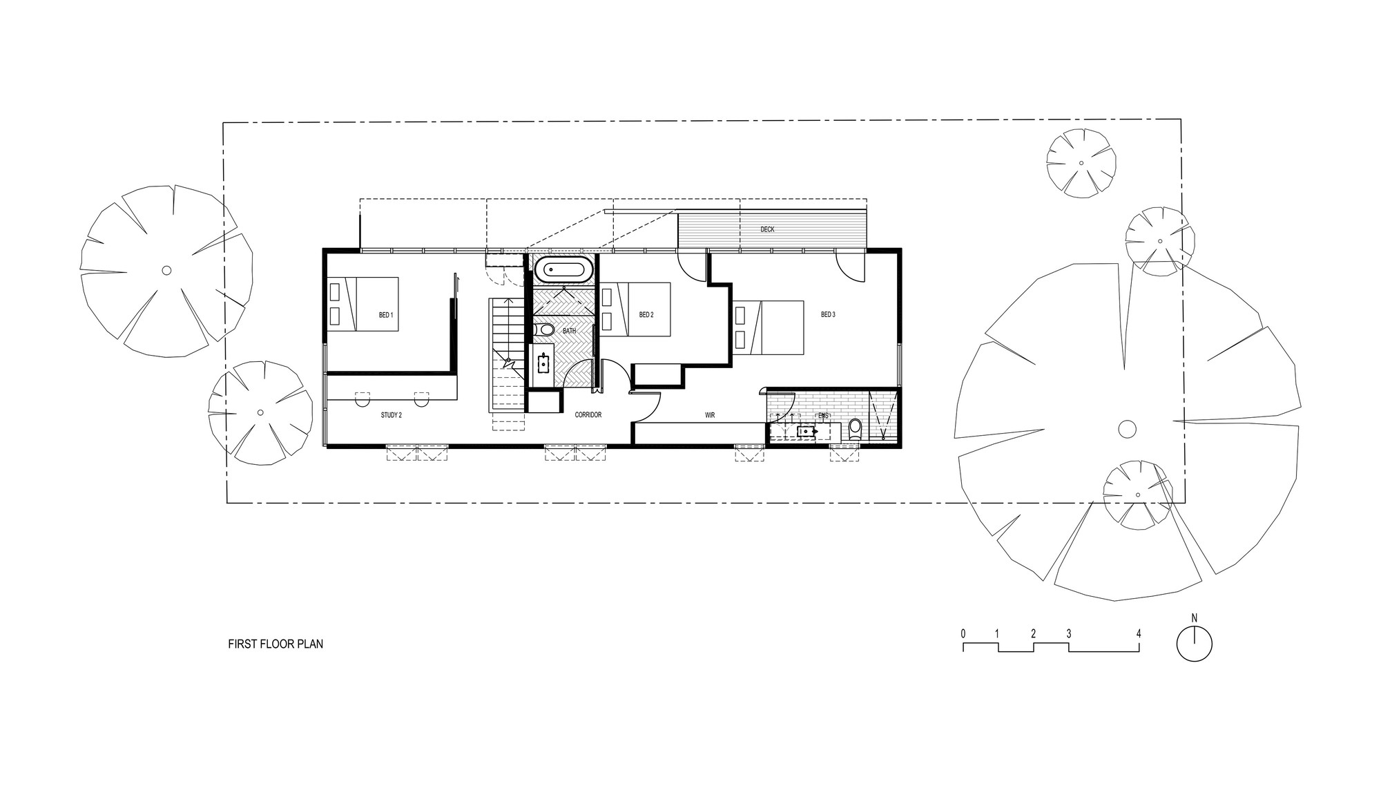 Gallery of bike house fmd architects 16 for Floor plan holder
