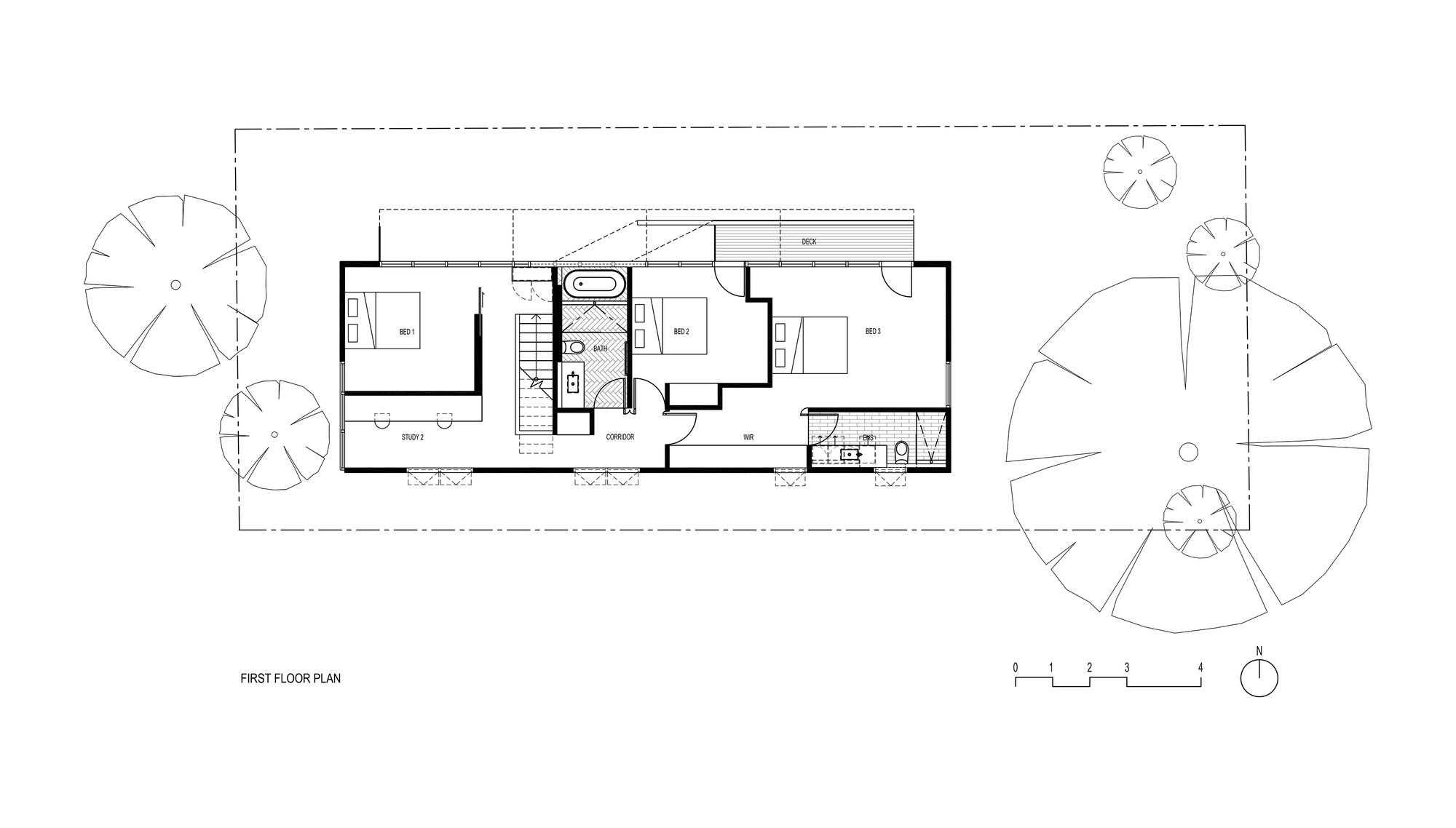 Casa para bicicletas fmd architects plataforma for Floor plan holder