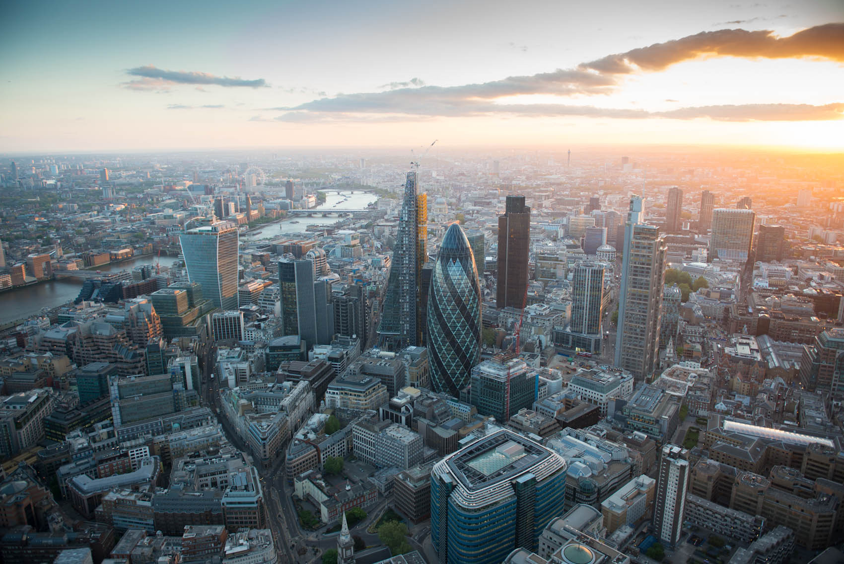 New London Architecture Reveals The Latest Figures in The City's Tall Building Boom, © Jason Hawkes