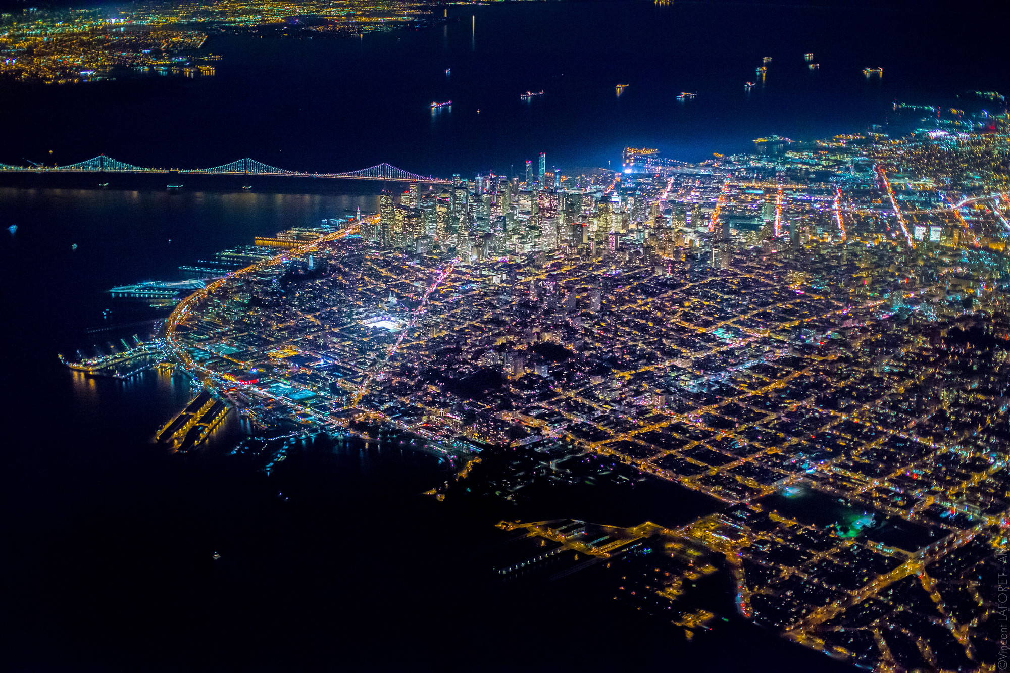 Vincent Laforet Captures San Francisco From Above, © Vincent Laforet