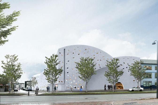 Henning Larsen Receives Planning for Danish Mosque, © Henning Larsen Architects