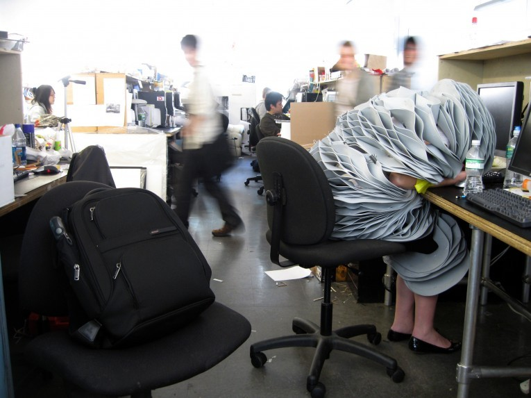 Is a 24-Hour Studio Culture a Good Thing in Universities?, Are inventions such as Forrest Jessee's Sleep Suit symptomatic of a cultural problem in the studio?. Image © Forrest Jessee
