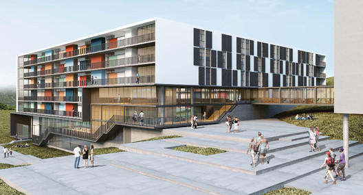 3° Pré-classificado no concurso para Osasco - Acayaba Rosenberg Arquitetos . Image Cortesia de IAB-SP