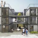 5° Pré-classificado no concurso para Osasco - Barbosa & Corbucci Arquitetos Associados . Image Cortesia de IAB-SP