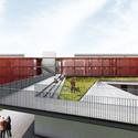 1° Pré-classificado no concurso para São José dos Campos - Arquitetos Associados. Image Cortesia de IAB-SP