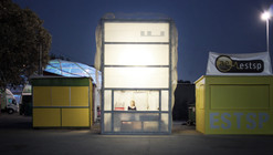 Mesh Temporary Bar / fala atelier