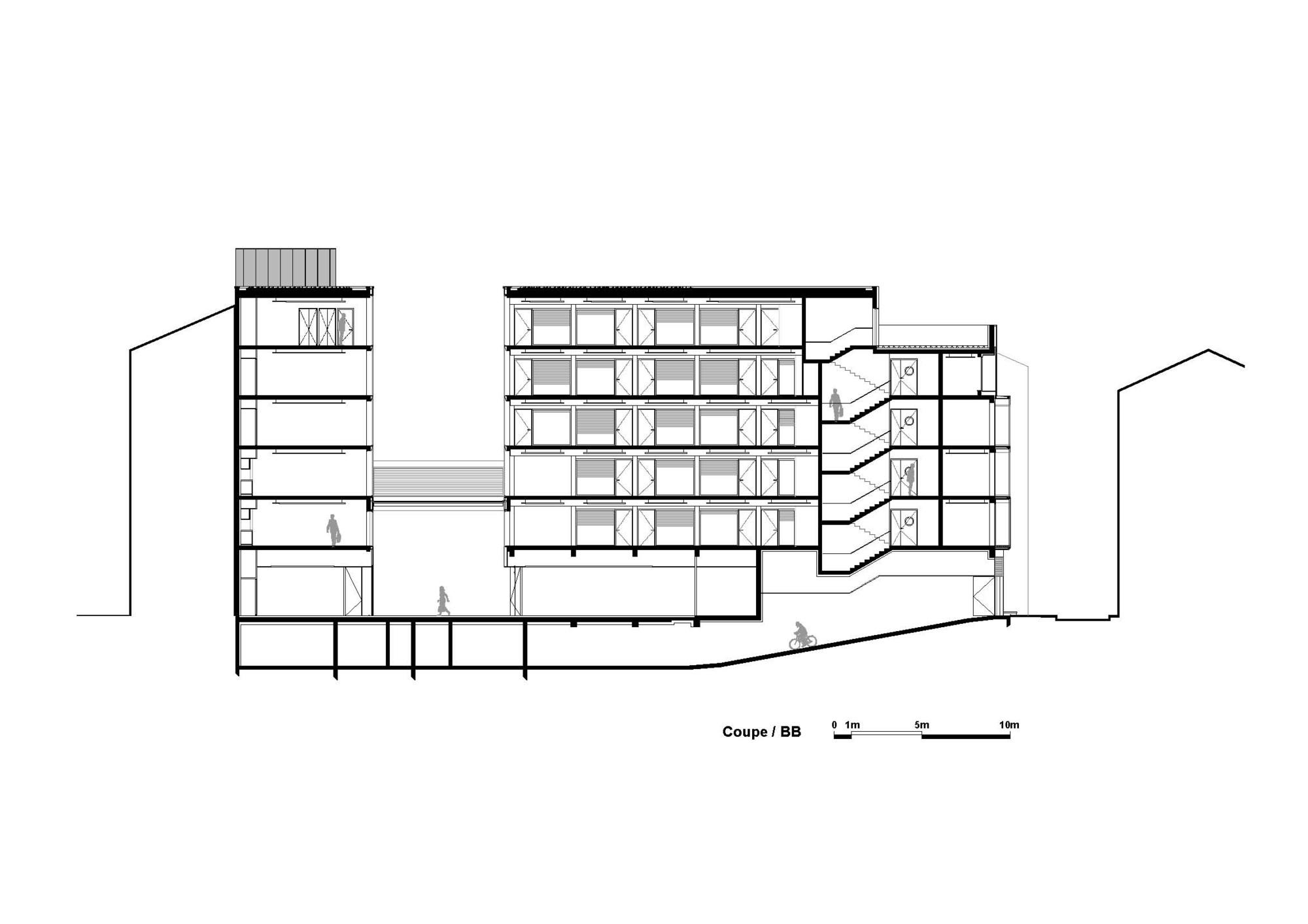 galer a de sede central caisse d epargne taillandier architectes associ s 14. Black Bedroom Furniture Sets. Home Design Ideas
