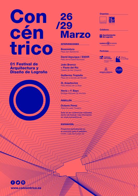 Concéntrico | 01 Festival de Arquitectura y Diseño de Logroño / España