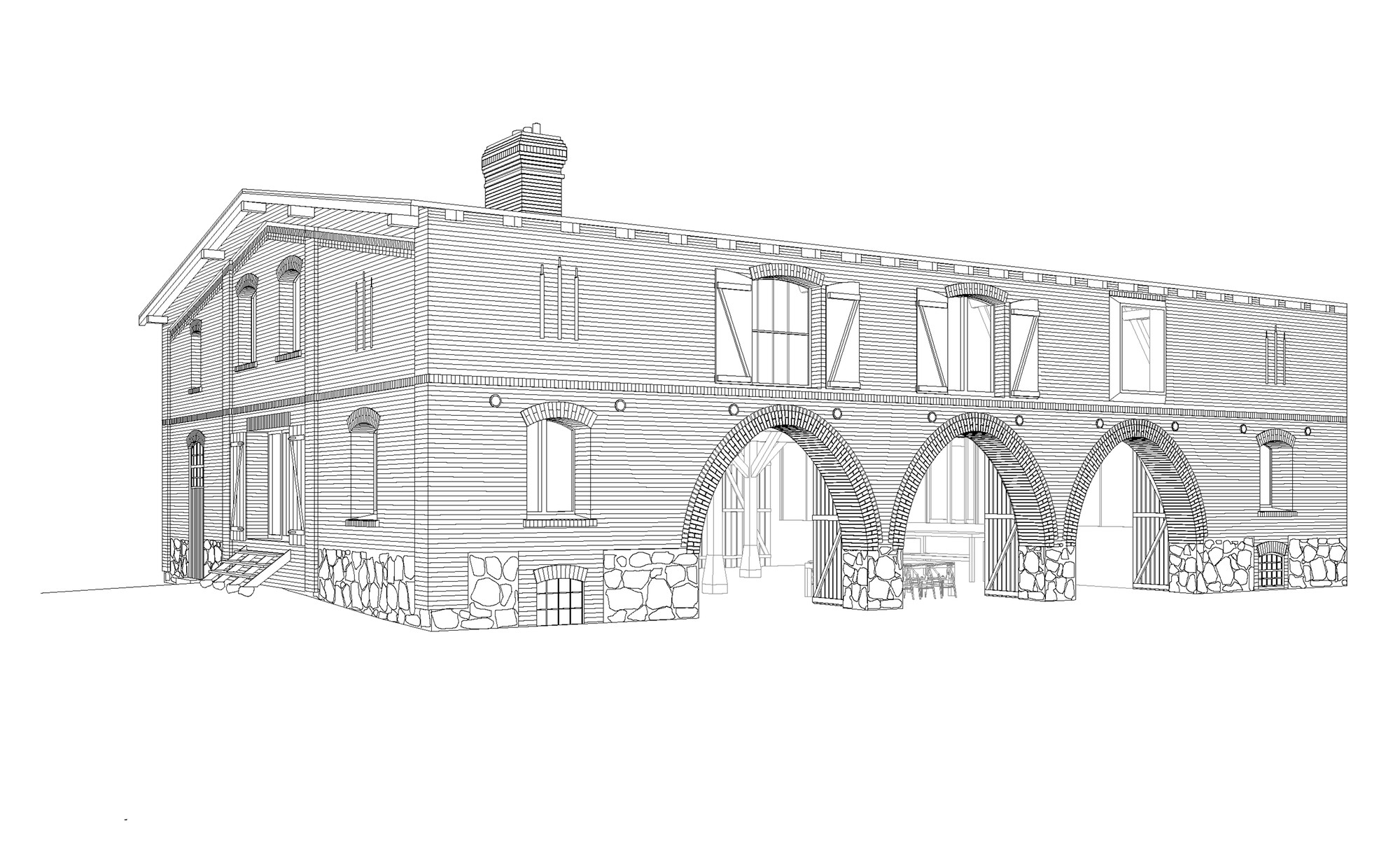 gallery of landhaus thomas kr ger architekt 22. Black Bedroom Furniture Sets. Home Design Ideas