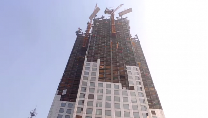 Chinese Company Builds 57-Story Skyscraper in 19 Days, via BSB