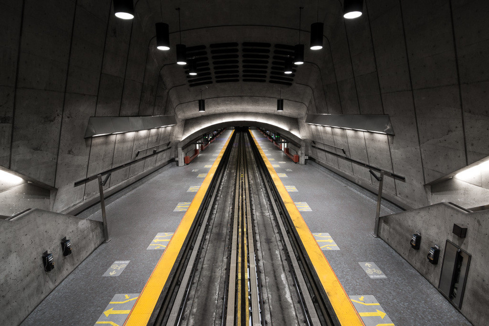 Photographer Chris Forsyth On The Montreal Metro Going