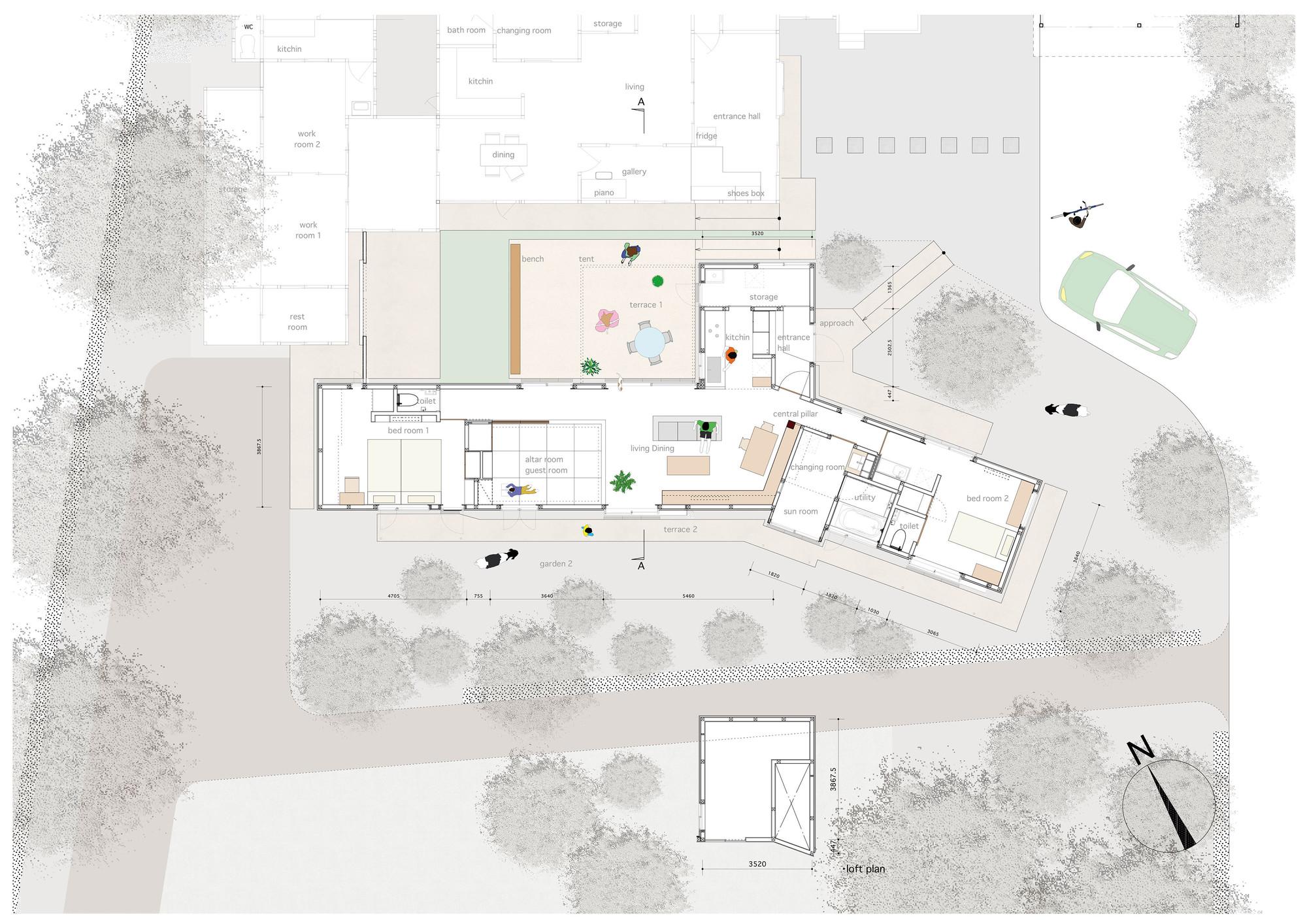 Gallery Of House For Dairy Farmers Osamu Tsukihashi Architects Teehouse 11