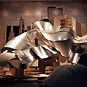 A model of Gehry's design that was put on display for the public. Image © Carter B. Horsley for The City Review