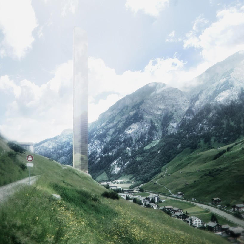 Morphosis Unveils Plans for 381-Meter-Tall Skyscraper in Vals, © Morphosis Architects