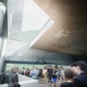 Lobby. Image © Morphosis Architects