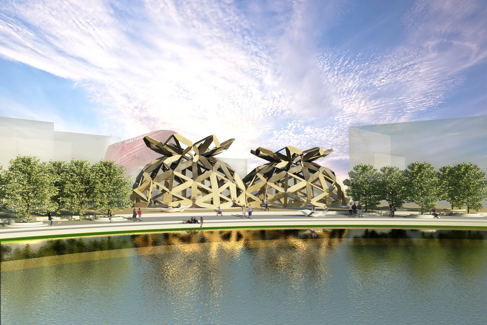 Milan Expo 2015: EMBT Designs Dome for COPAGRI, © Miralles Tagliabue EMBT