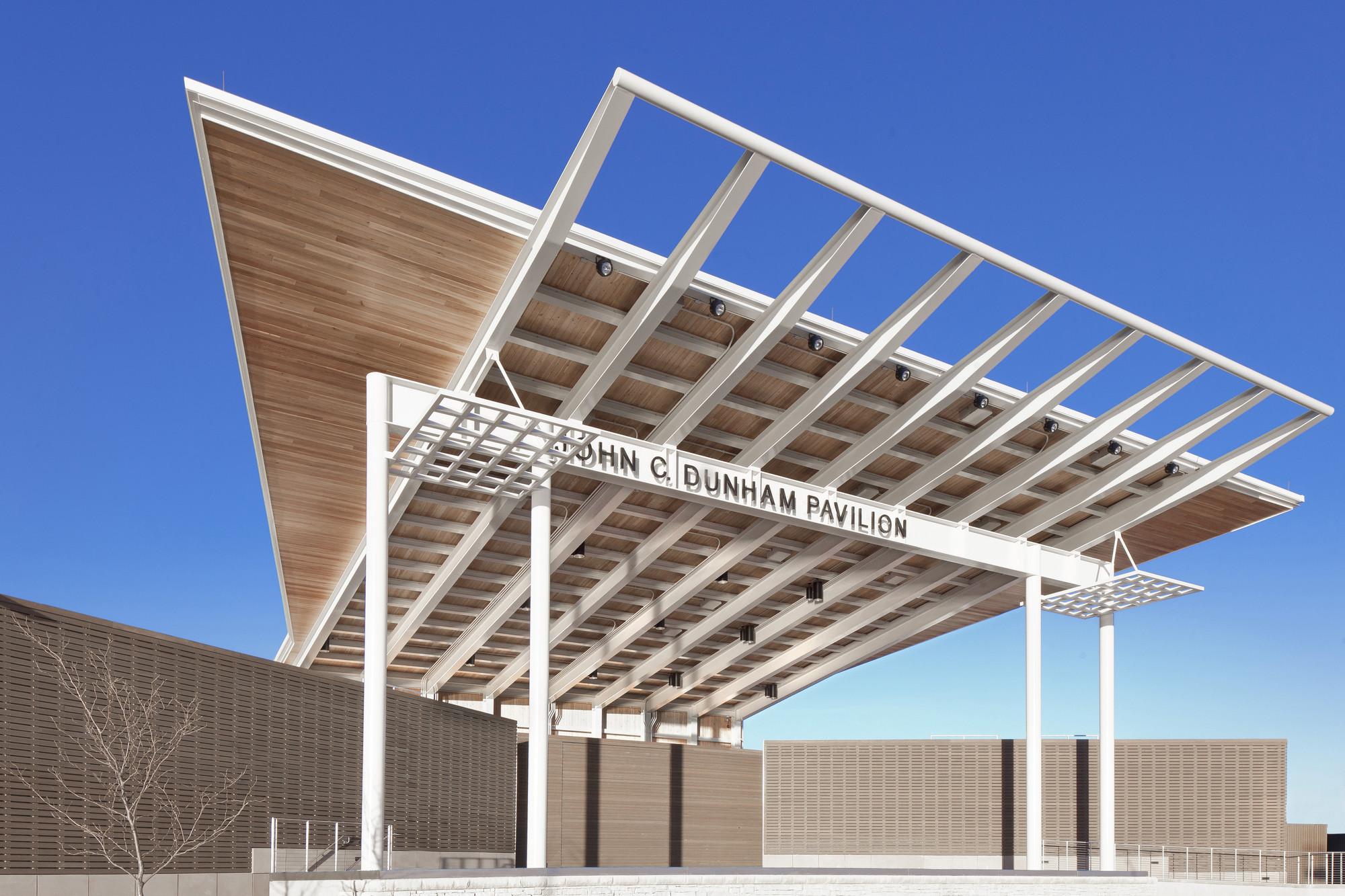 Dunham Pavilion at Aurora RiverEdge Park / Muller&Muller, Courtesy of Muller&Muller