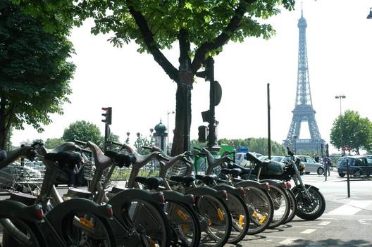 Vélib' - Sistema público de aluguel de bicicletas de Paris